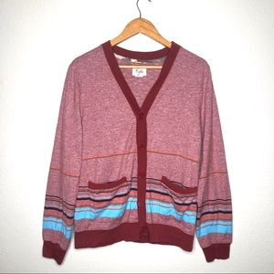 Koto Urban Outfitters Striped Cardigan Sweater